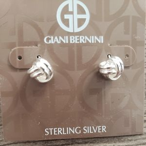 Gianni Bernini sterling silver earrings